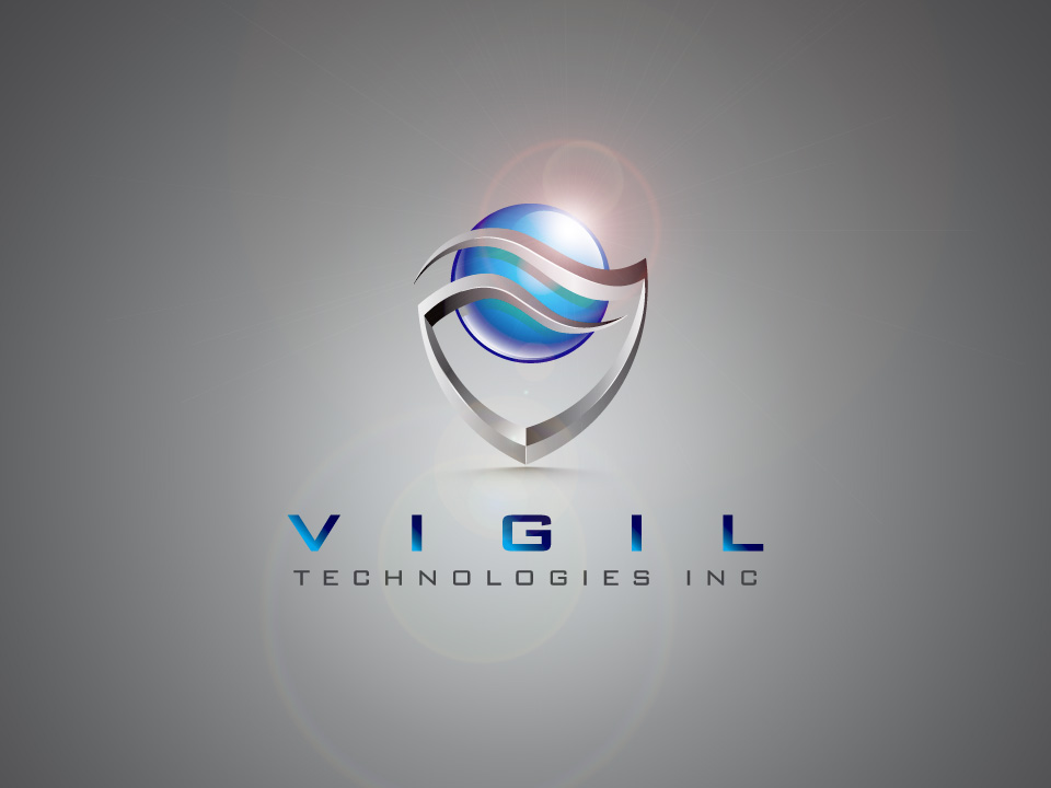 Logo Design by ffer1985 - Entry No. 64 in the Logo Design Contest New Logo Design for Vigil Technologies Inc..