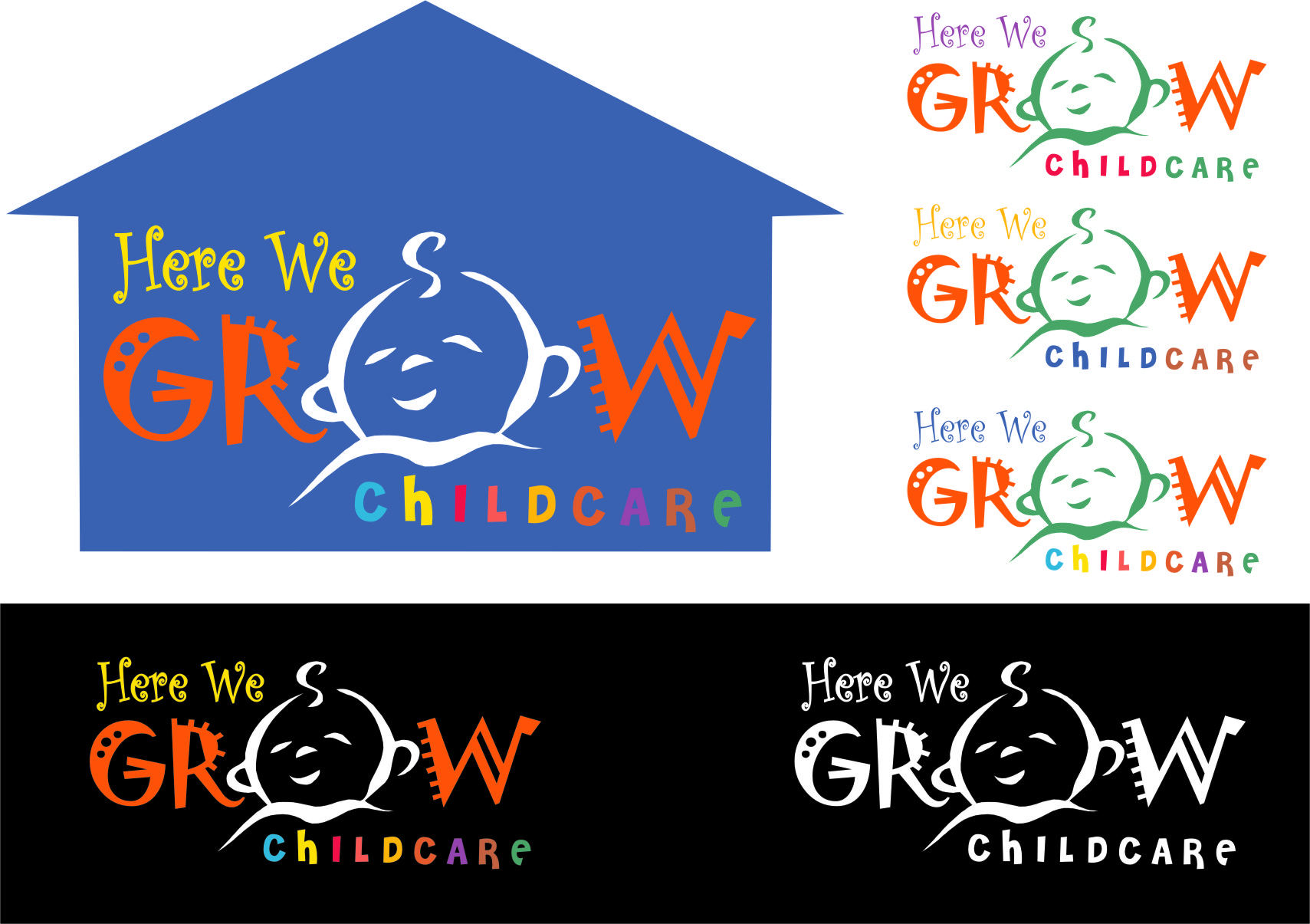 Logo Design by RasYa Muhammad Athaya - Entry No. 27 in the Logo Design Contest Here We Grow Logo Design.
