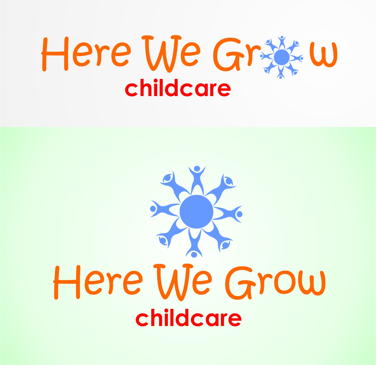 Logo Design by Hudy Wake - Entry No. 28 in the Logo Design Contest Here We Grow Logo Design.