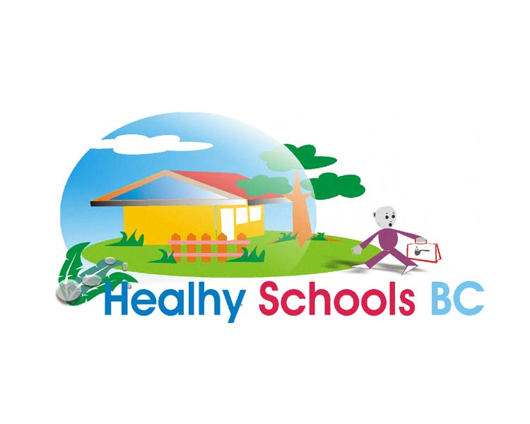 Logo Design by Najmul Ahmad - Entry No. 19 in the Logo Design Contest SImple, Creative and Clean Logo Design for Healthy Schools British Columbia, Canada.