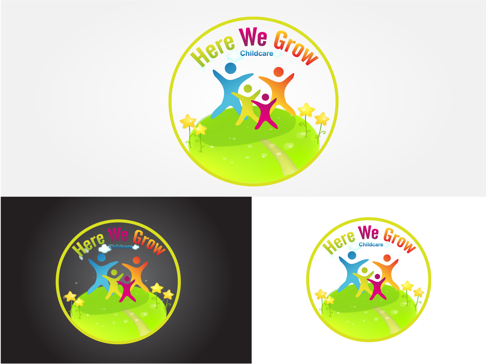 Logo Design by Jagdeep Singh - Entry No. 31 in the Logo Design Contest Here We Grow Logo Design.