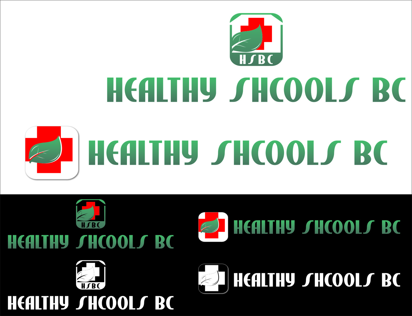 Logo Design by RoSyid Rono-Rene On Java - Entry No. 20 in the Logo Design Contest SImple, Creative and Clean Logo Design for Healthy Schools British Columbia, Canada.