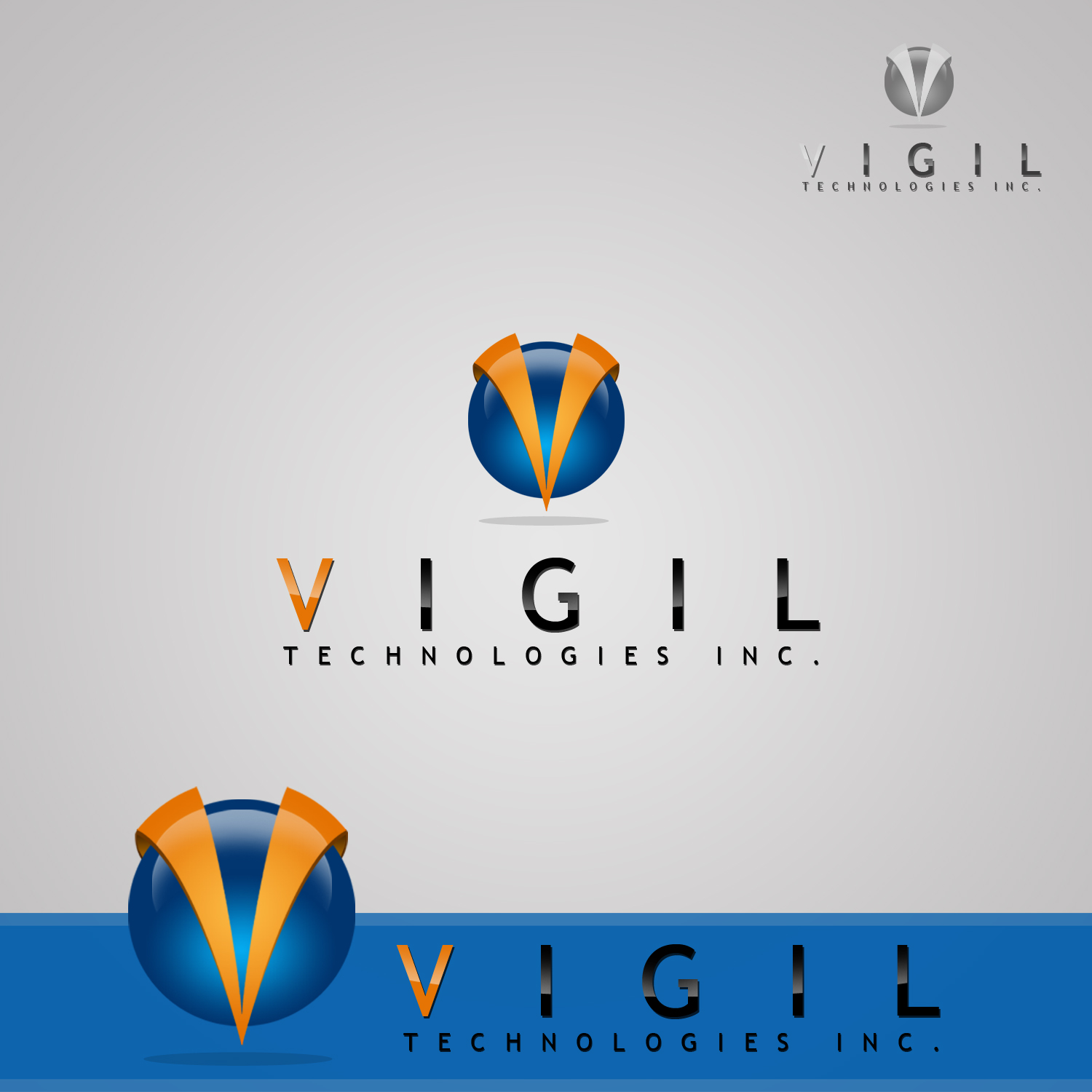 Logo Design by omARTist - Entry No. 71 in the Logo Design Contest New Logo Design for Vigil Technologies Inc..