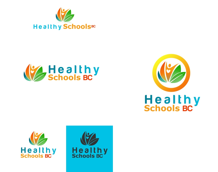 Logo Design by Private User - Entry No. 29 in the Logo Design Contest SImple, Creative and Clean Logo Design for Healthy Schools British Columbia, Canada.