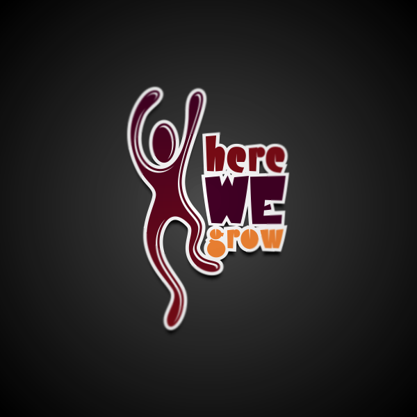 Logo Design by Private User - Entry No. 39 in the Logo Design Contest Here We Grow Logo Design.