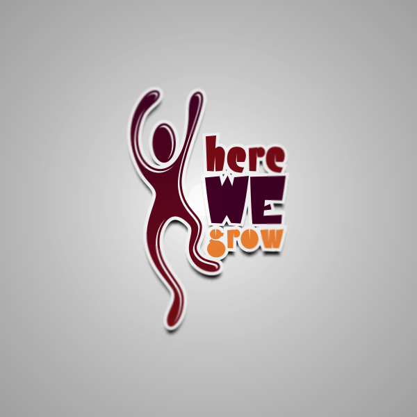 Logo Design by Private User - Entry No. 40 in the Logo Design Contest Here We Grow Logo Design.