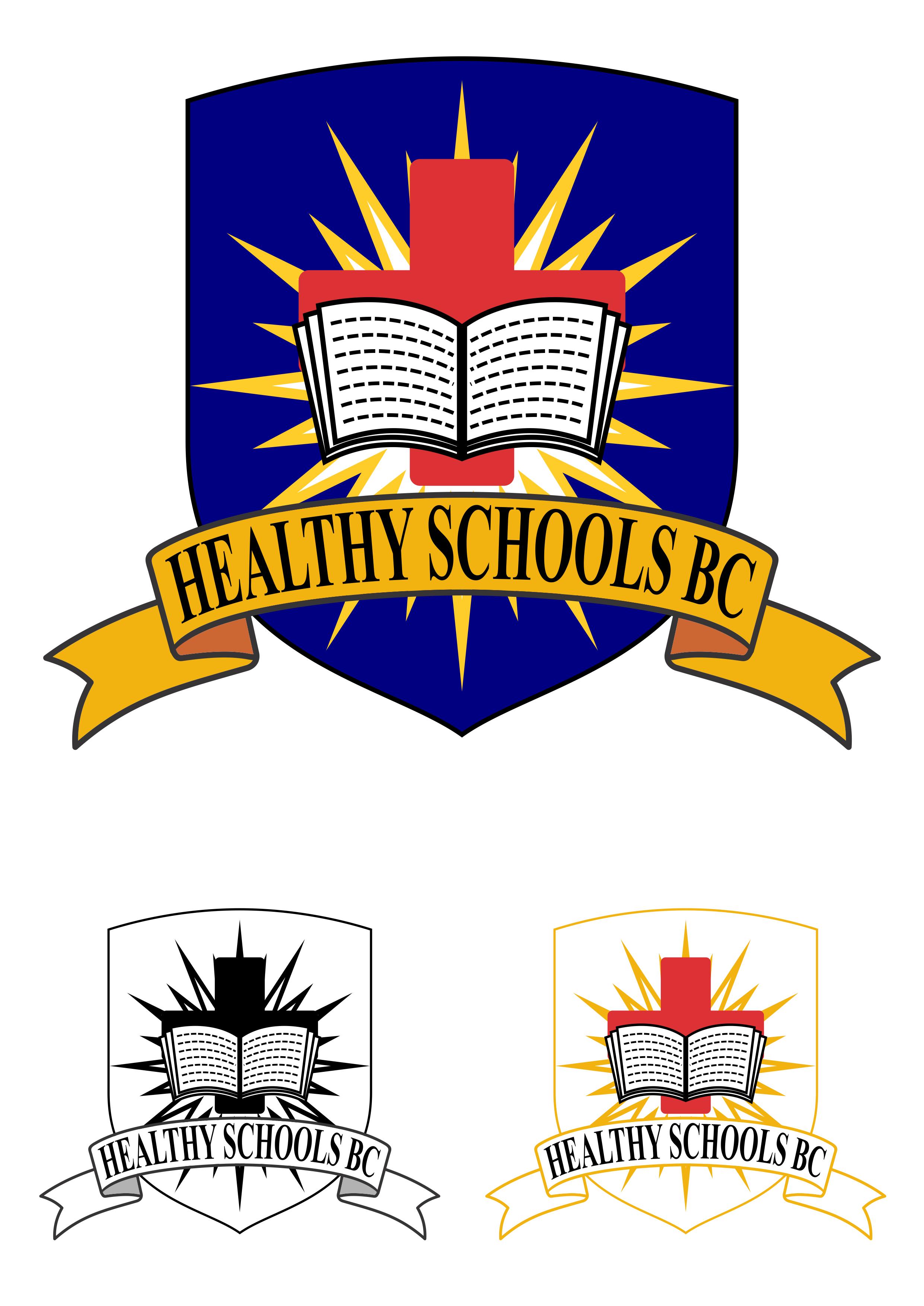 Logo Design by Yohanes Yunianto - Entry No. 30 in the Logo Design Contest SImple, Creative and Clean Logo Design for Healthy Schools British Columbia, Canada.