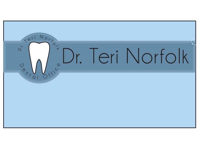 Business Card Design by Mythos Designs - Entry No. 24 in the Business Card Design Contest Unique Business Card Design Wanted for Dr. Teri Norfolk Inc..