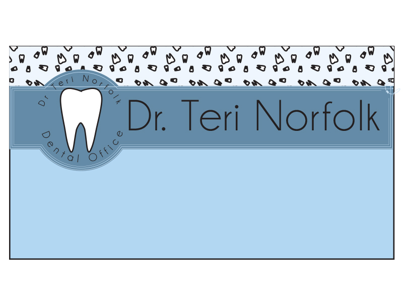 Business Card Design by Mythos Designs - Entry No. 25 in the Business Card Design Contest Unique Business Card Design Wanted for Dr. Teri Norfolk Inc..
