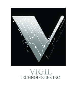Logo Design by Uroob Rubbani - Entry No. 75 in the Logo Design Contest New Logo Design for Vigil Technologies Inc..