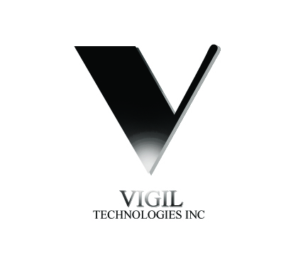 Logo Design by Uroob Rubbani - Entry No. 76 in the Logo Design Contest New Logo Design for Vigil Technologies Inc..