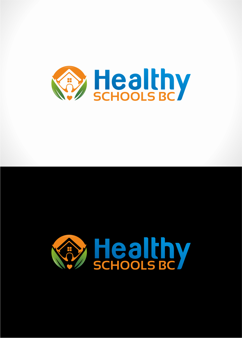 Logo Design by Mitchnick Sunardi - Entry No. 35 in the Logo Design Contest SImple, Creative and Clean Logo Design for Healthy Schools British Columbia, Canada.