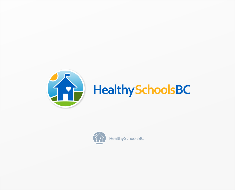 Logo Design by Jorge Sardon - Entry No. 38 in the Logo Design Contest SImple, Creative and Clean Logo Design for Healthy Schools British Columbia, Canada.