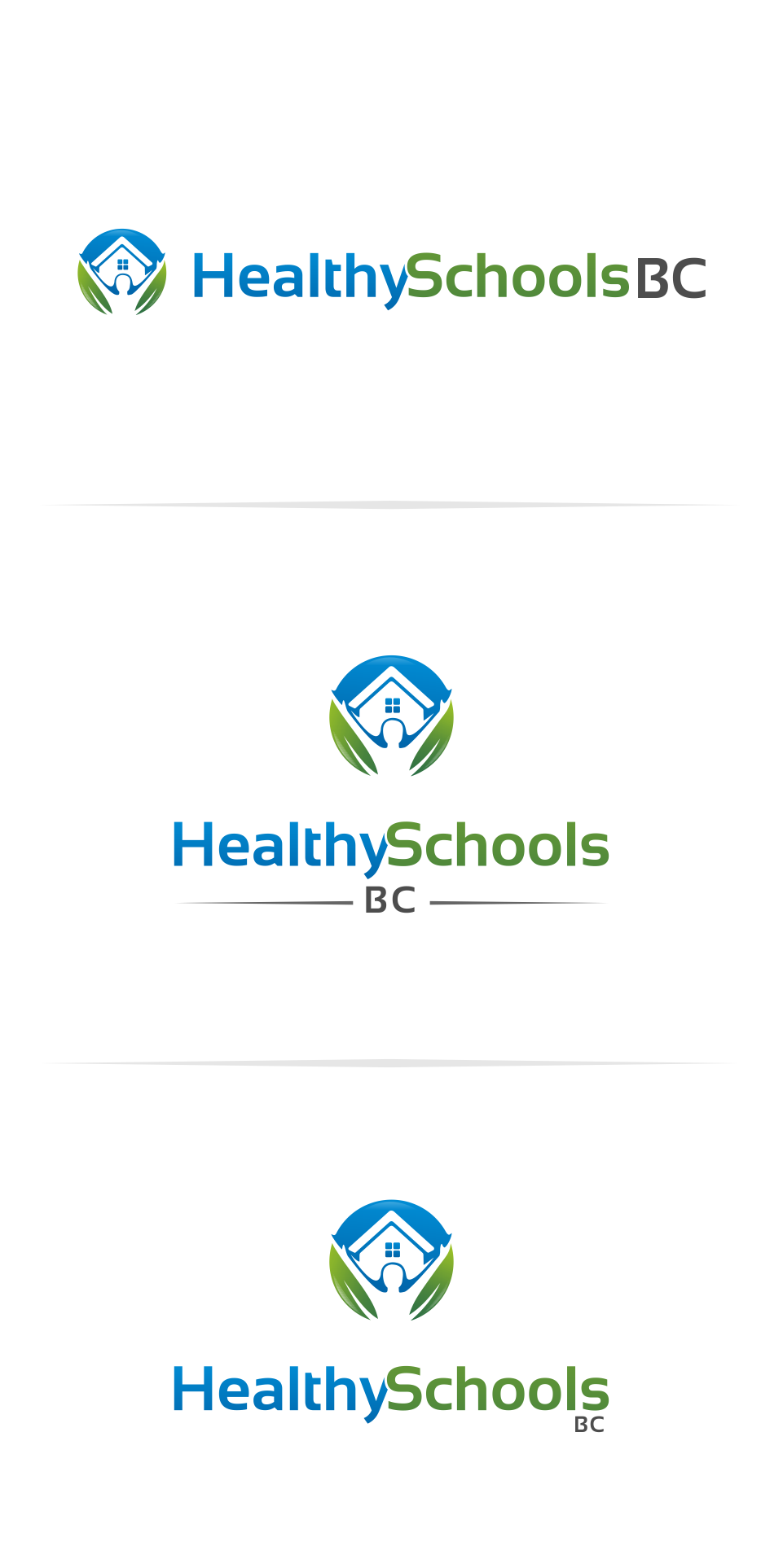 Logo Design by Mitchnick Sunardi - Entry No. 39 in the Logo Design Contest SImple, Creative and Clean Logo Design for Healthy Schools British Columbia, Canada.