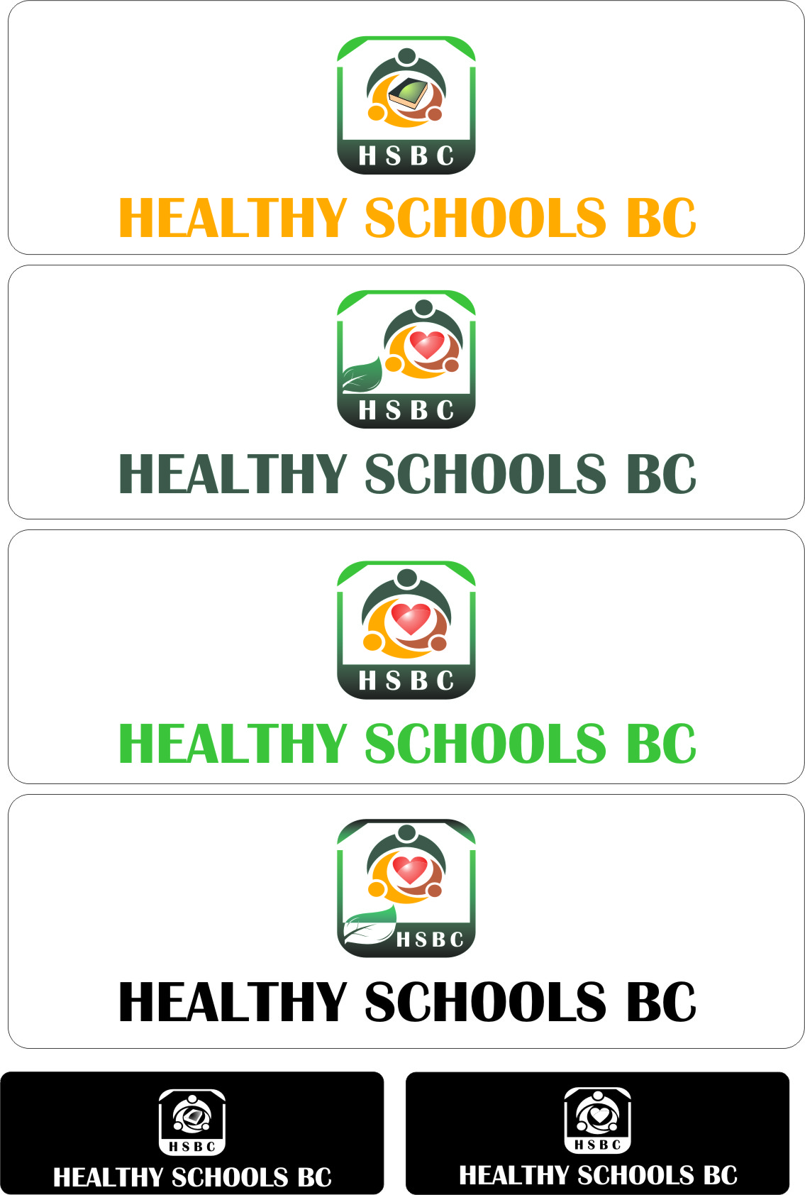 Logo Design by RasYa Muhammad Athaya - Entry No. 45 in the Logo Design Contest SImple, Creative and Clean Logo Design for Healthy Schools British Columbia, Canada.
