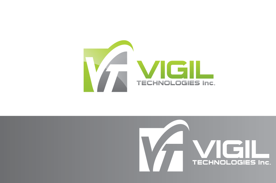 Logo Design by Muhammad Moinjaved - Entry No. 78 in the Logo Design Contest New Logo Design for Vigil Technologies Inc..