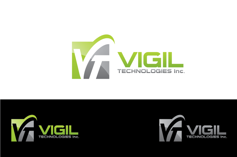 Logo Design by Muhammad Moinjaved - Entry No. 80 in the Logo Design Contest New Logo Design for Vigil Technologies Inc..