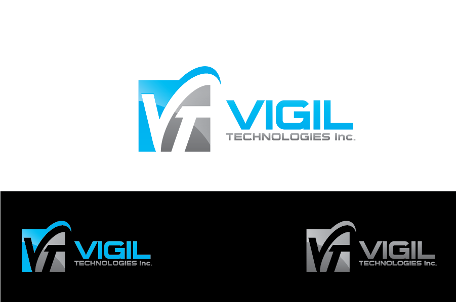 Logo Design by Muhammad Moinjaved - Entry No. 81 in the Logo Design Contest New Logo Design for Vigil Technologies Inc..