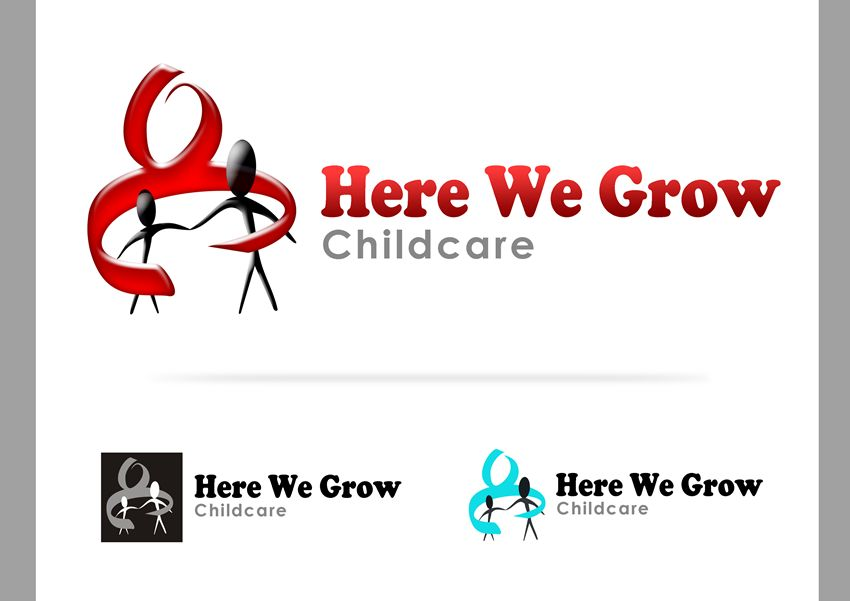 Logo Design by Respati Himawan - Entry No. 46 in the Logo Design Contest Here We Grow Logo Design.