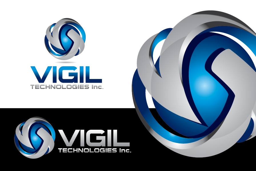 Logo Design by Private User - Entry No. 83 in the Logo Design Contest New Logo Design for Vigil Technologies Inc..