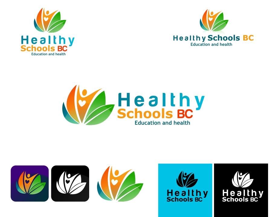 Logo Design by Private User - Entry No. 52 in the Logo Design Contest SImple, Creative and Clean Logo Design for Healthy Schools British Columbia, Canada.