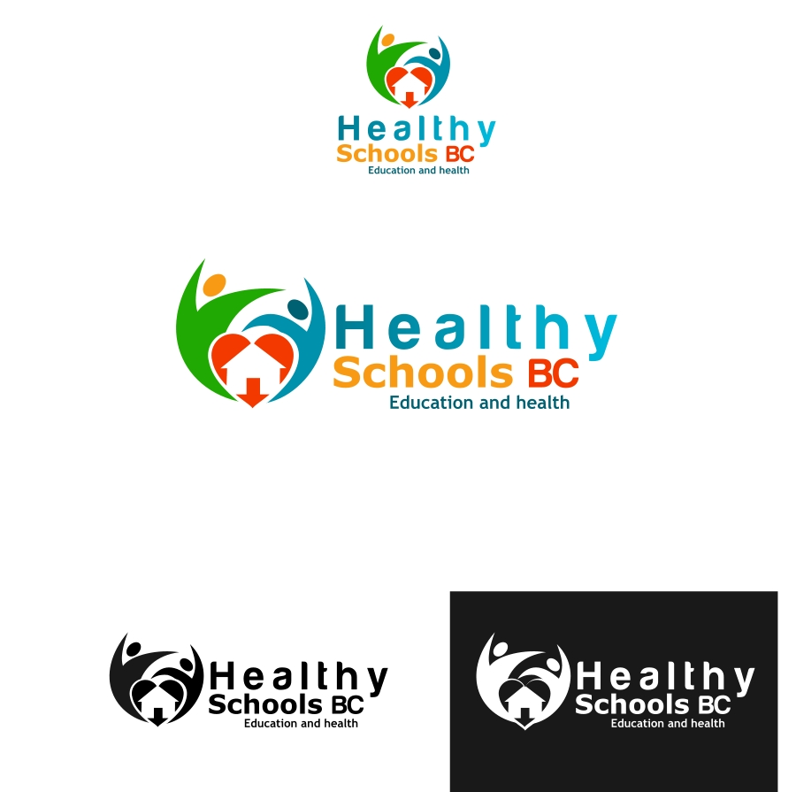 Logo Design by Private User - Entry No. 61 in the Logo Design Contest SImple, Creative and Clean Logo Design for Healthy Schools British Columbia, Canada.