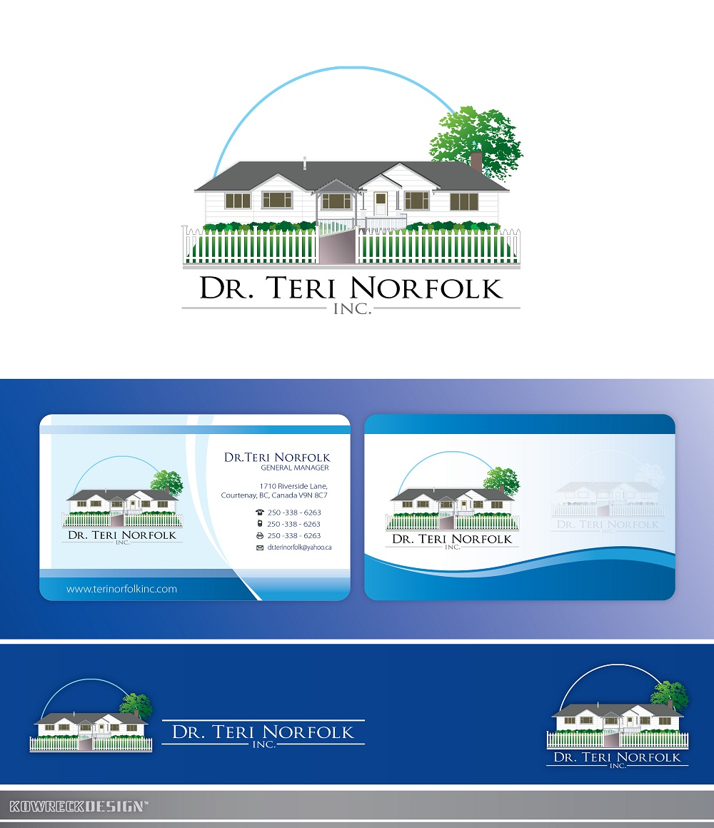 Business Card Design by kowreck - Entry No. 55 in the Business Card Design Contest Unique Business Card Design Wanted for Dr. Teri Norfolk Inc..