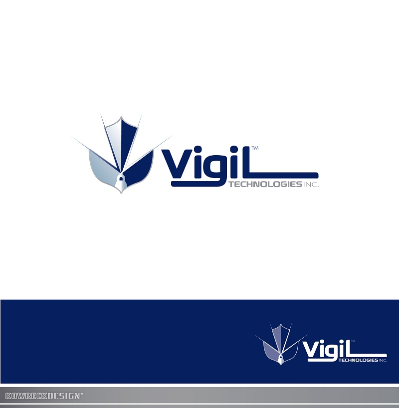 Logo Design by kowreck - Entry No. 88 in the Logo Design Contest New Logo Design for Vigil Technologies Inc..