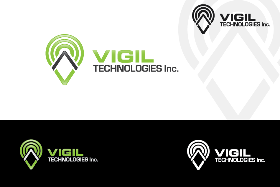 Logo Design by Dipin Bishwakarma - Entry No. 90 in the Logo Design Contest New Logo Design for Vigil Technologies Inc..
