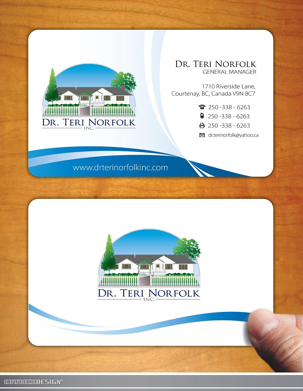 Visiting Cards Free Business Card Psd Mockup Vertical And