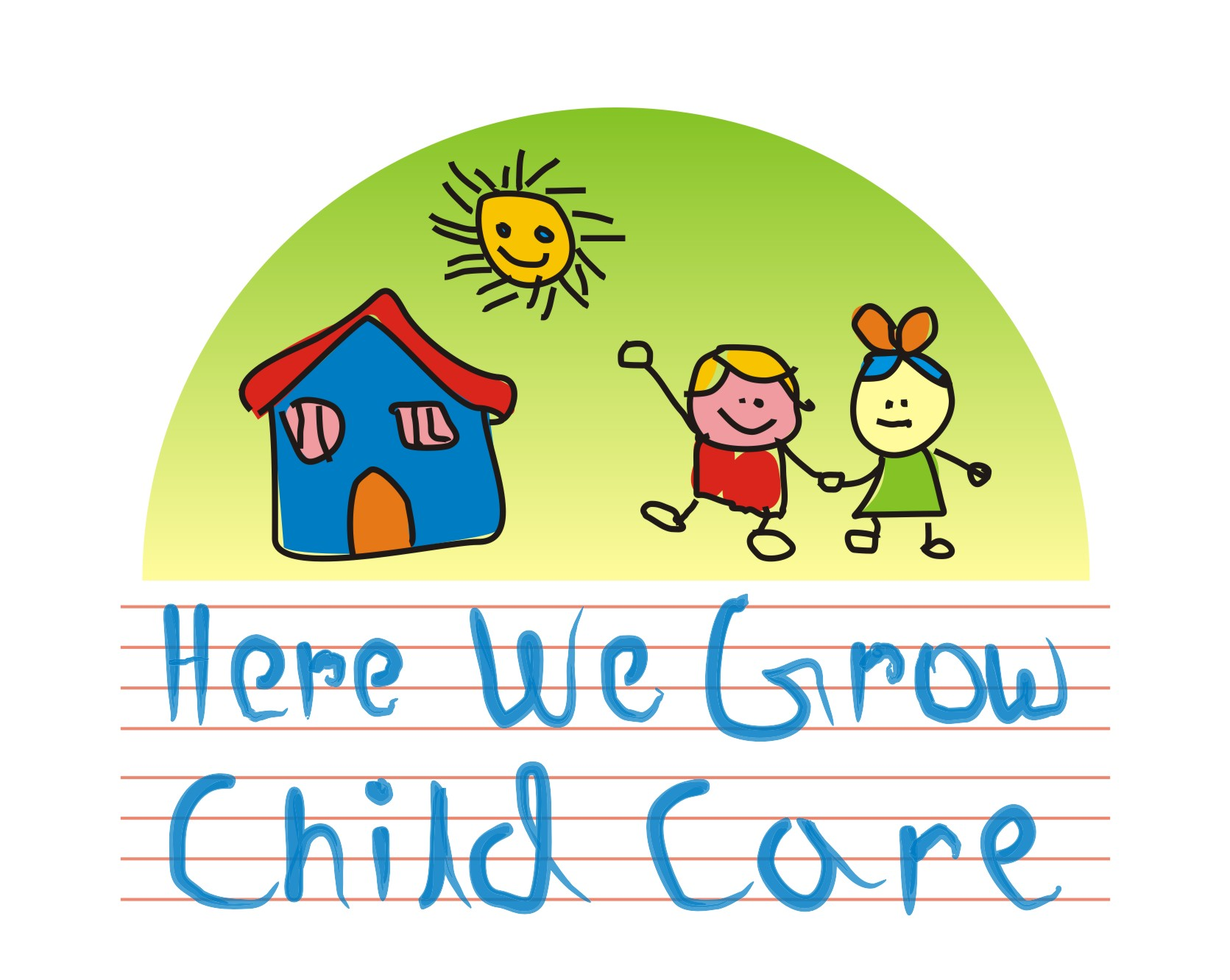 Logo Design by Private User - Entry No. 54 in the Logo Design Contest Here We Grow Logo Design.