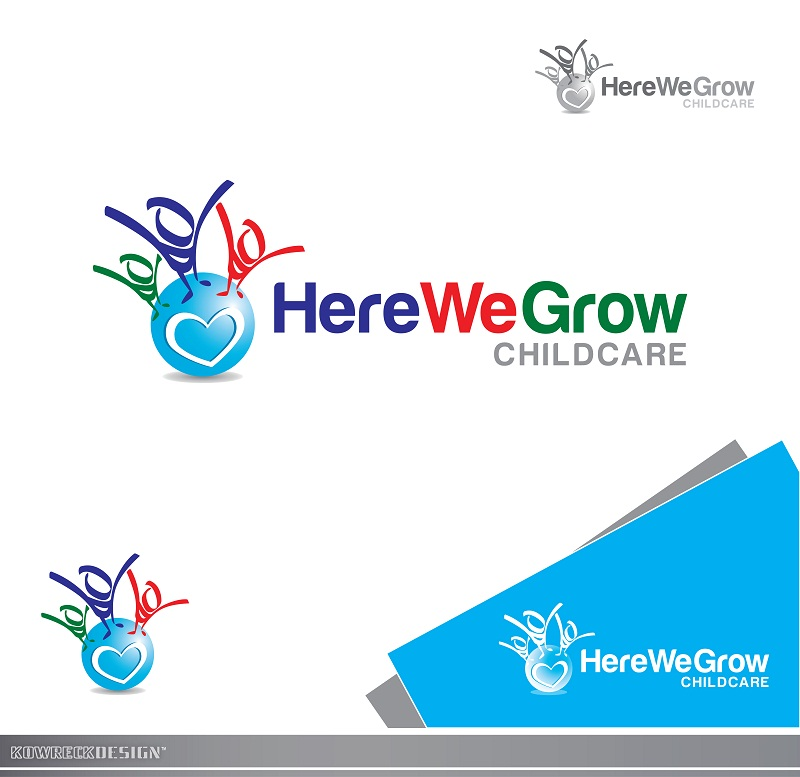 Logo Design by kowreck - Entry No. 55 in the Logo Design Contest Here We Grow Logo Design.