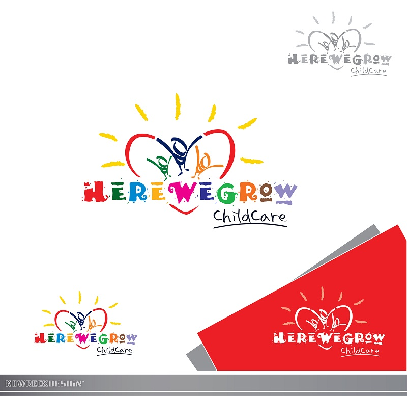 Logo Design by kowreck - Entry No. 58 in the Logo Design Contest Here We Grow Logo Design.