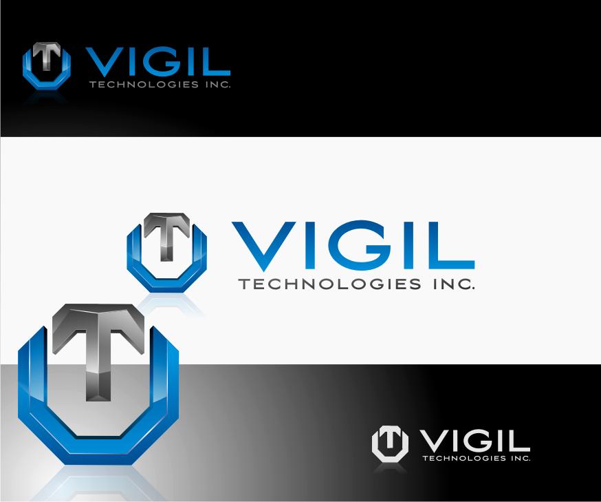 Logo Design by Muhammad Nasrul chasib - Entry No. 92 in the Logo Design Contest New Logo Design for Vigil Technologies Inc..