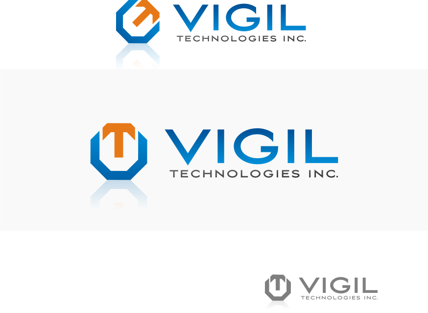 Logo Design by graphicleaf - Entry No. 93 in the Logo Design Contest New Logo Design for Vigil Technologies Inc..