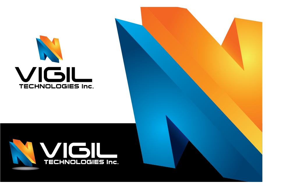 Logo Design by Private User - Entry No. 102 in the Logo Design Contest New Logo Design for Vigil Technologies Inc..