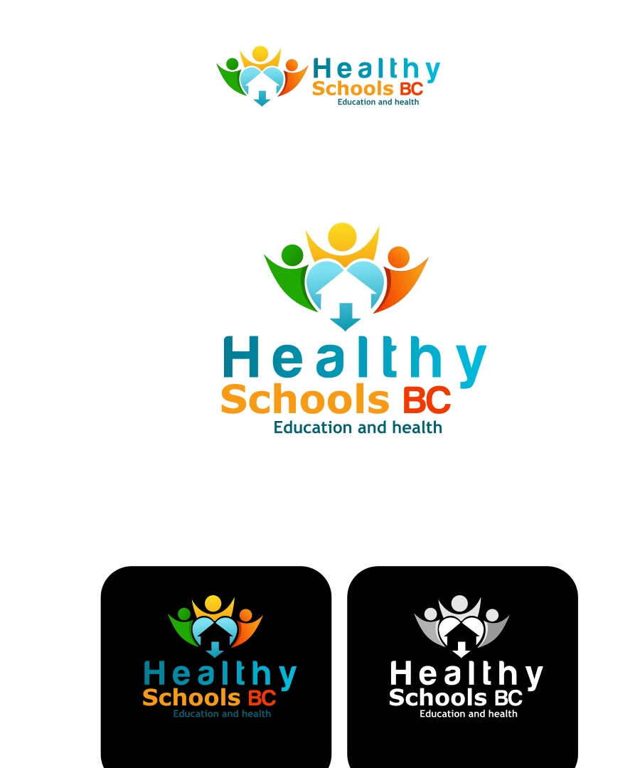 Logo Design by Private User - Entry No. 85 in the Logo Design Contest SImple, Creative and Clean Logo Design for Healthy Schools British Columbia, Canada.