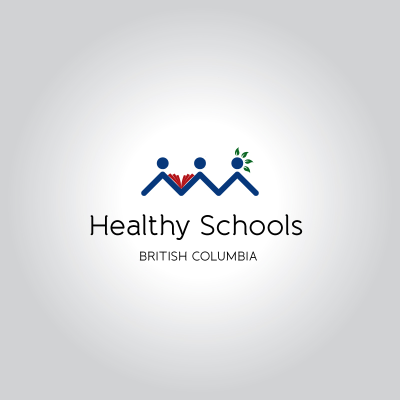 Logo Design by Suman Sahil Verma - Entry No. 89 in the Logo Design Contest SImple, Creative and Clean Logo Design for Healthy Schools British Columbia, Canada.