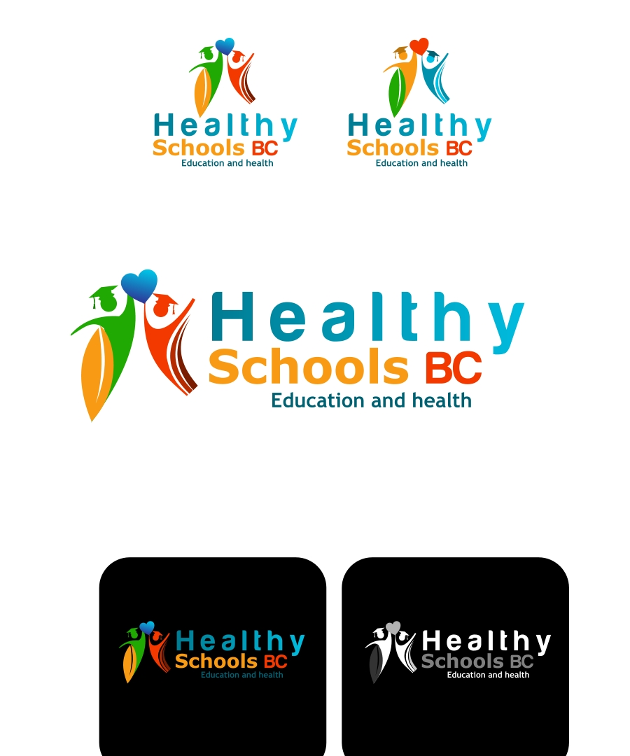 Logo Design by Private User - Entry No. 95 in the Logo Design Contest SImple, Creative and Clean Logo Design for Healthy Schools British Columbia, Canada.