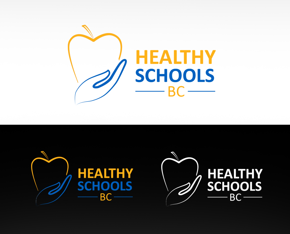 Logo Design by Private User - Entry No. 98 in the Logo Design Contest SImple, Creative and Clean Logo Design for Healthy Schools British Columbia, Canada.