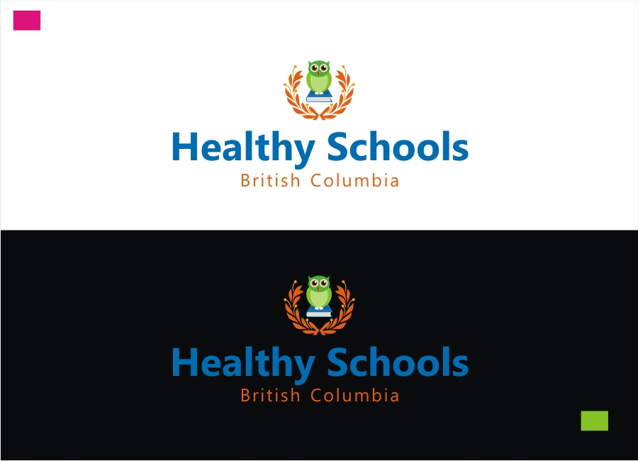Logo Design by Private User - Entry No. 102 in the Logo Design Contest SImple, Creative and Clean Logo Design for Healthy Schools British Columbia, Canada.