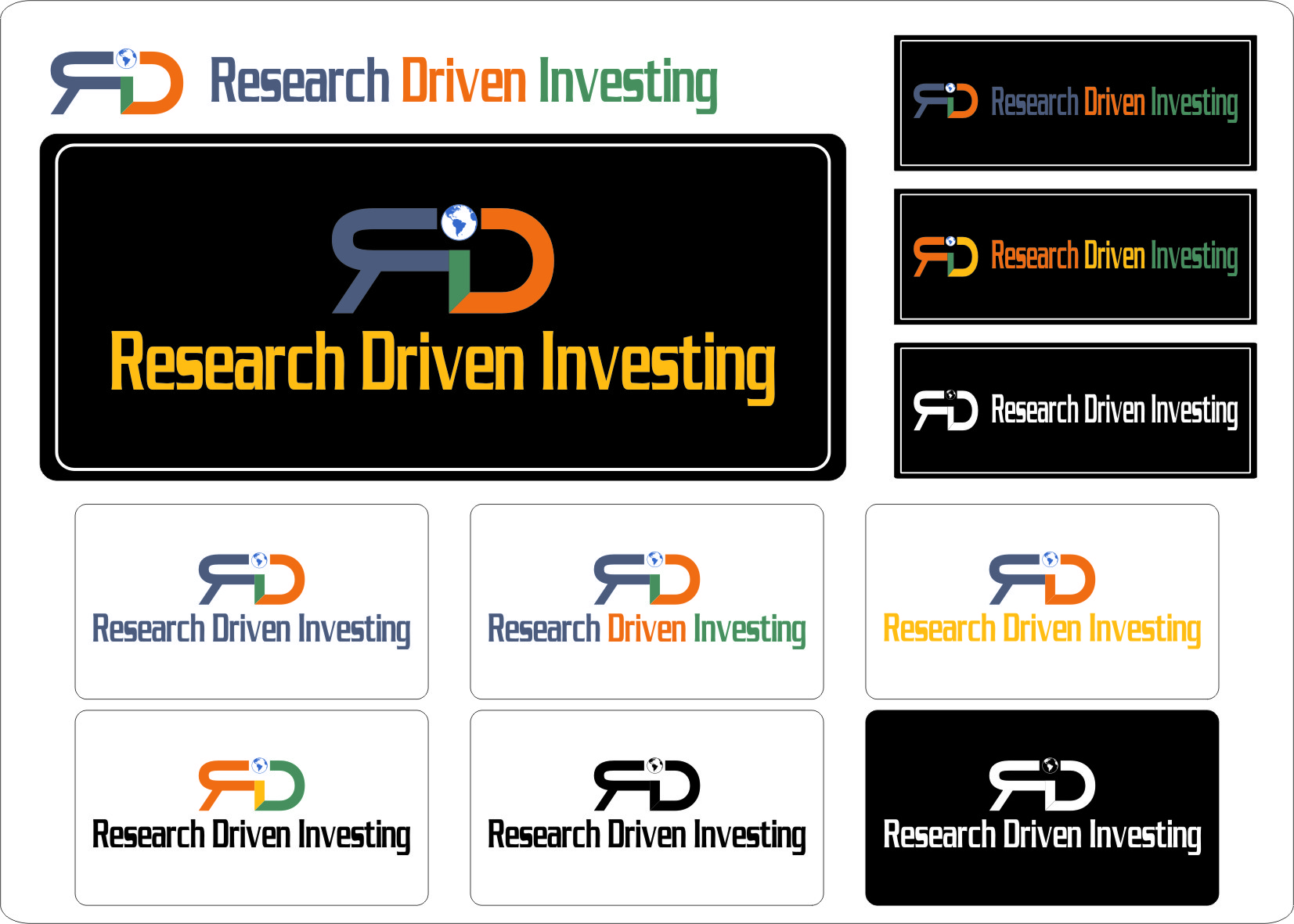 Logo Design by RasYa Muhammad Athaya - Entry No. 81 in the Logo Design Contest RDI Logo Design - Financial Website.