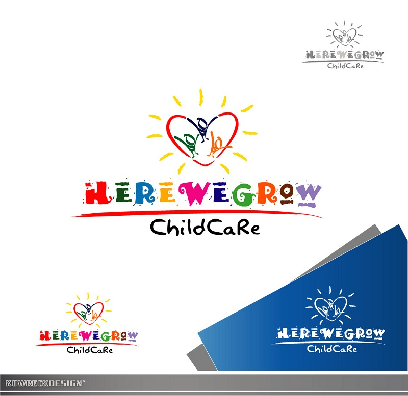 Logo Design by kowreck - Entry No. 77 in the Logo Design Contest Here We Grow Logo Design.