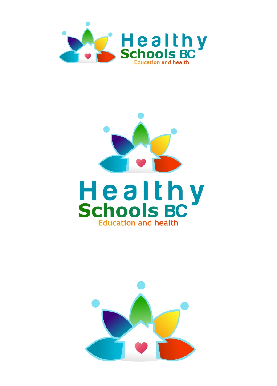 Logo Design by Private User - Entry No. 122 in the Logo Design Contest SImple, Creative and Clean Logo Design for Healthy Schools British Columbia, Canada.