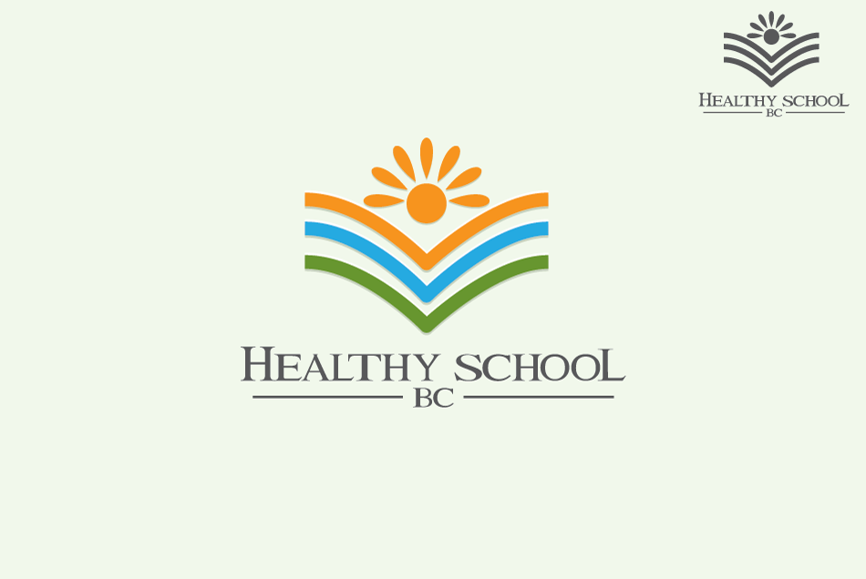 Logo Design by Dipin Bishwakarma - Entry No. 125 in the Logo Design Contest SImple, Creative and Clean Logo Design for Healthy Schools British Columbia, Canada.