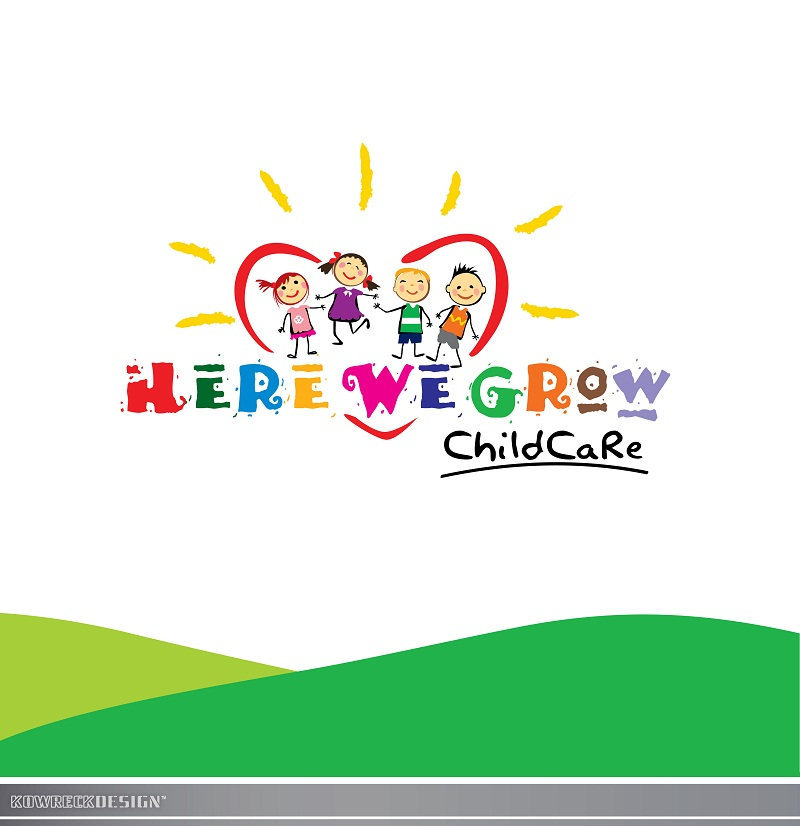 Logo Design by kowreck - Entry No. 86 in the Logo Design Contest Here We Grow Logo Design.