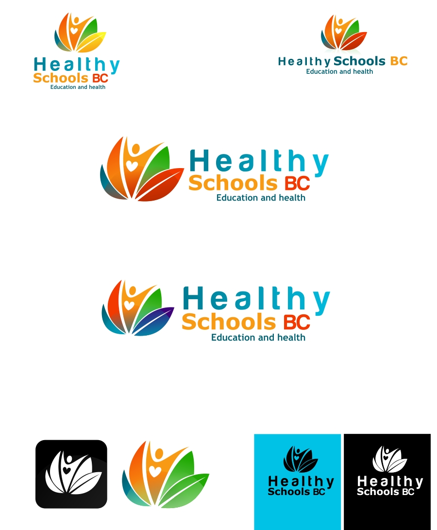 Logo Design by Private User - Entry No. 131 in the Logo Design Contest SImple, Creative and Clean Logo Design for Healthy Schools British Columbia, Canada.
