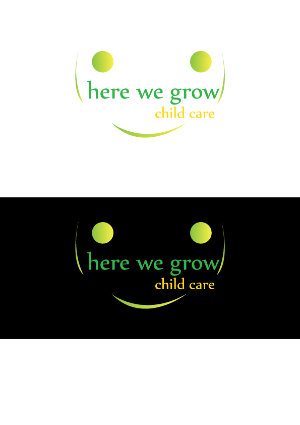 Logo Design by Qazi Usman - Entry No. 89 in the Logo Design Contest Here We Grow Logo Design.