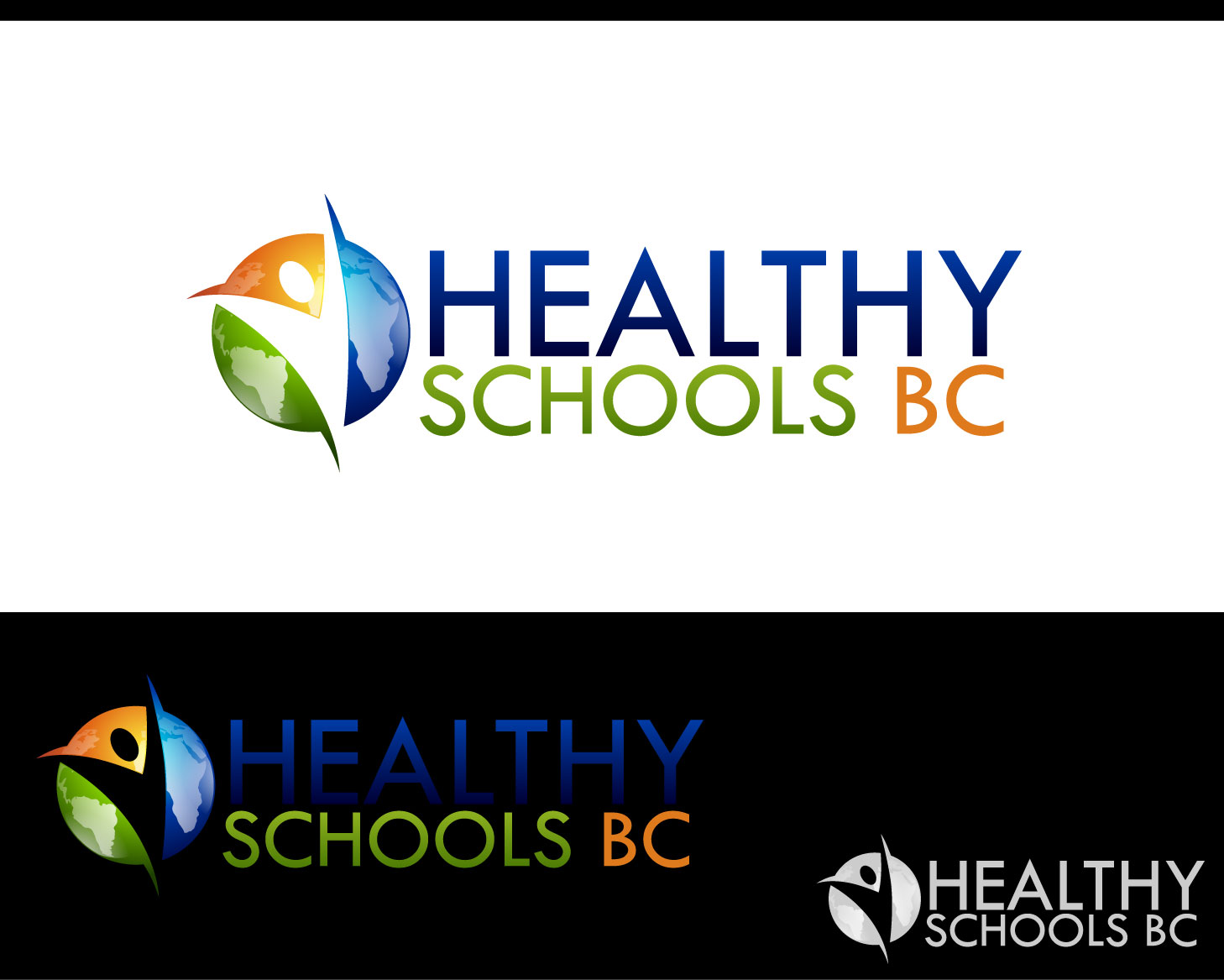 Logo Design by Private User - Entry No. 136 in the Logo Design Contest SImple, Creative and Clean Logo Design for Healthy Schools British Columbia, Canada.