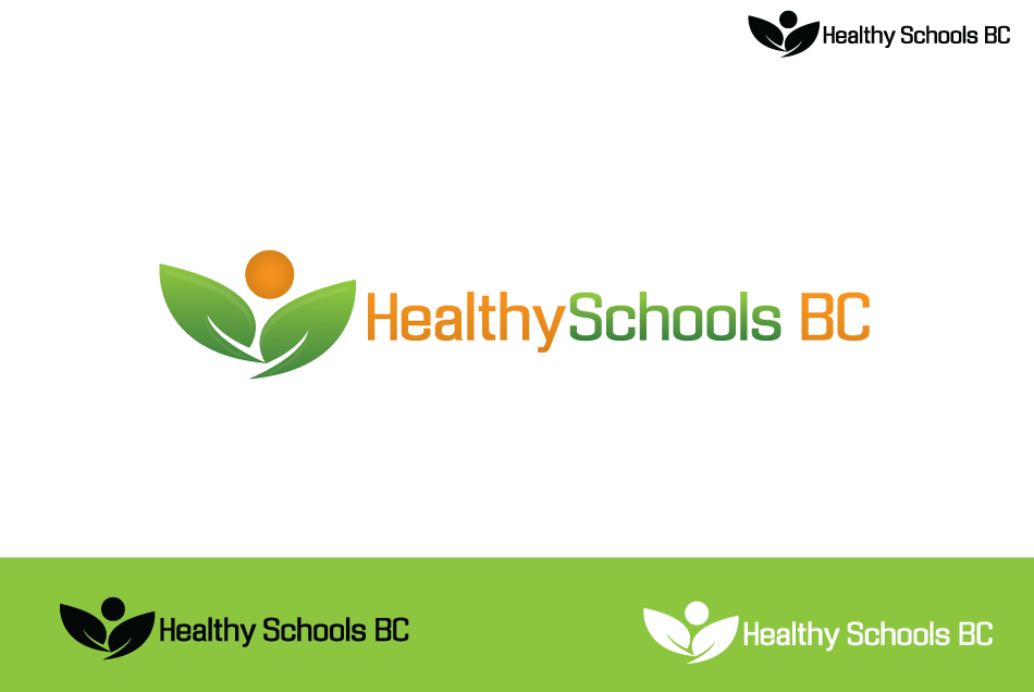 Logo Design by Dipin Bishwakarma - Entry No. 145 in the Logo Design Contest SImple, Creative and Clean Logo Design for Healthy Schools British Columbia, Canada.